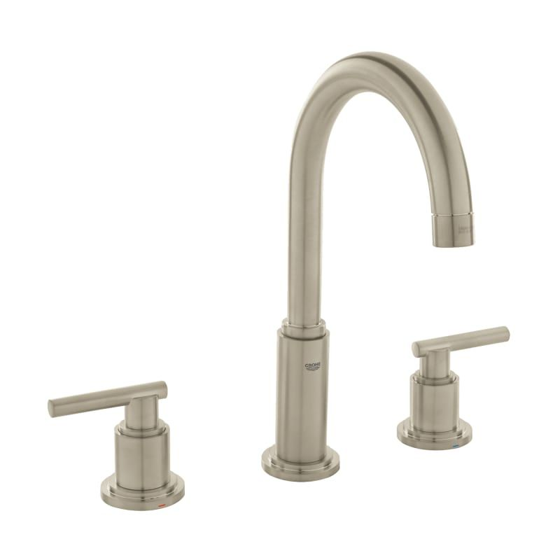 Grohe 20 069 A Atrio 1 2 Gpm Widespread Bathroom Faucet With