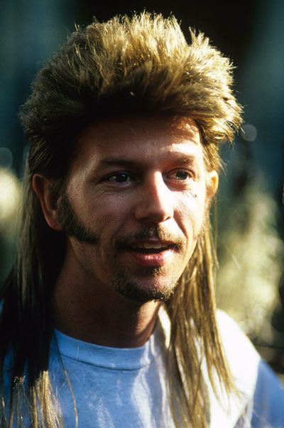 All You Joe Dirt Fans Get Ready For Joe Dirt 2 Beautiful Loser Comes Out In 2015 Cant Wait Joe Dirt Short Shaggy Haircuts Mullets