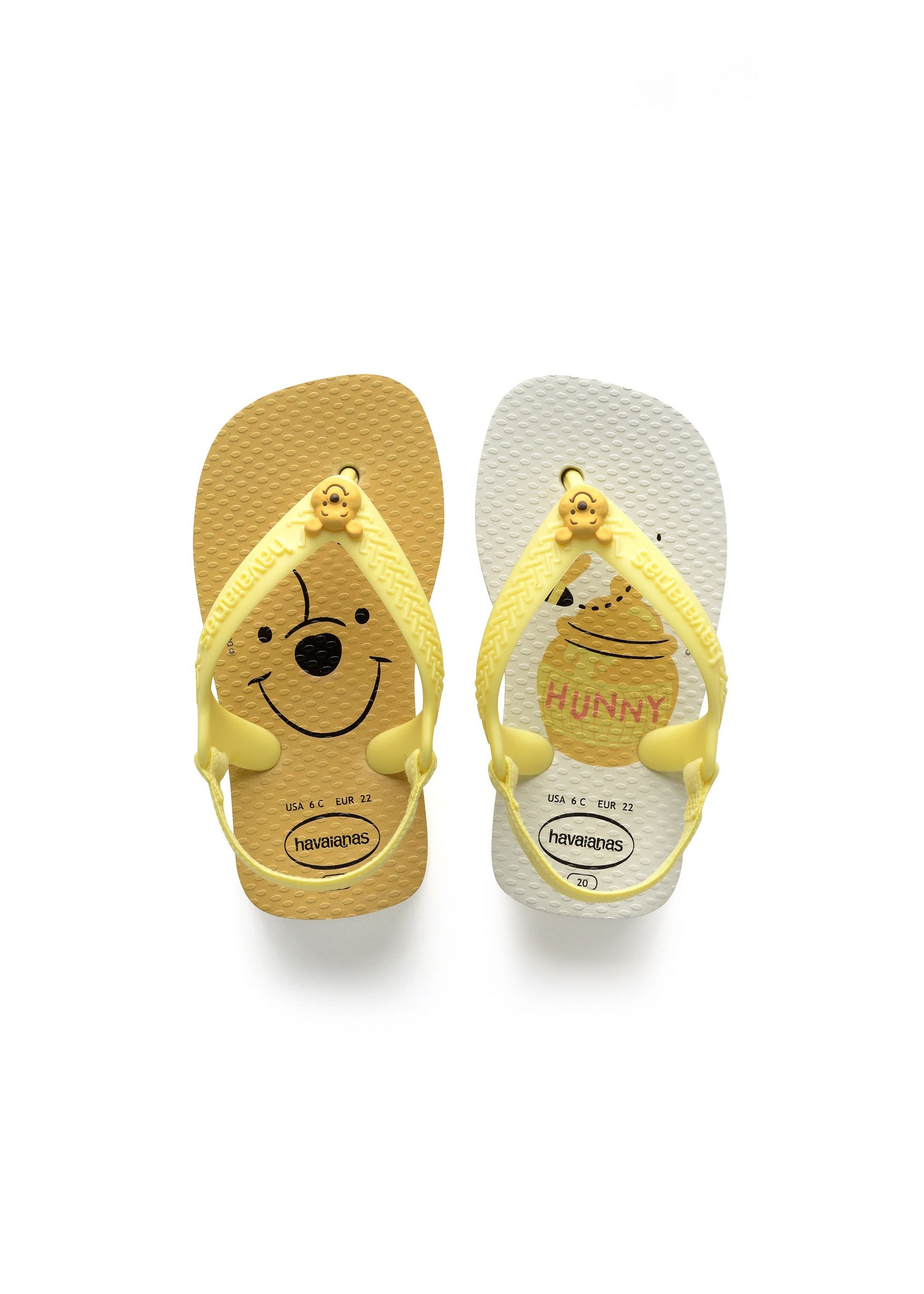 70cc6a449255e Havaianas Baby Disney Classics White/Pollen Yellow | MEN | Baby ...