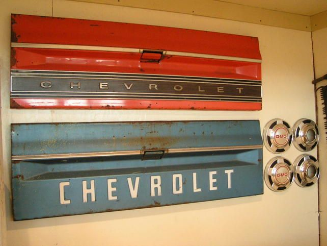 Hung Up Some Wall Art In The Garage The 1947 Present Chevrolet Gmc Truck Message Board Network Car Themed Bedrooms Cars Room Bad Room Ideas