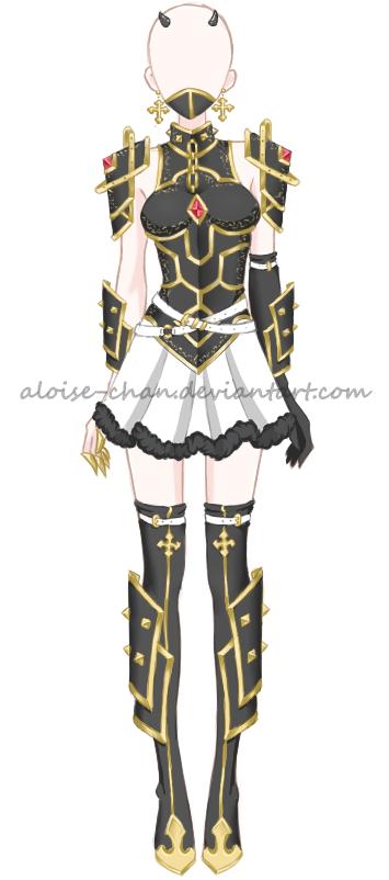 Oc Aloise Dragon Armour By Aloise Chan Deviantart Com On Deviantart
