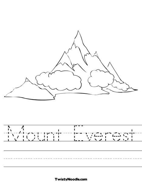 Mountain Worksheet | Activity Ideas | Pinterest | Worksheets and ...