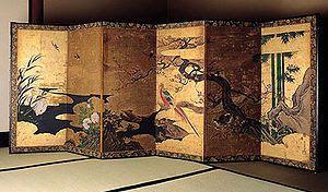 Art d'Asie: Les paravents japonais