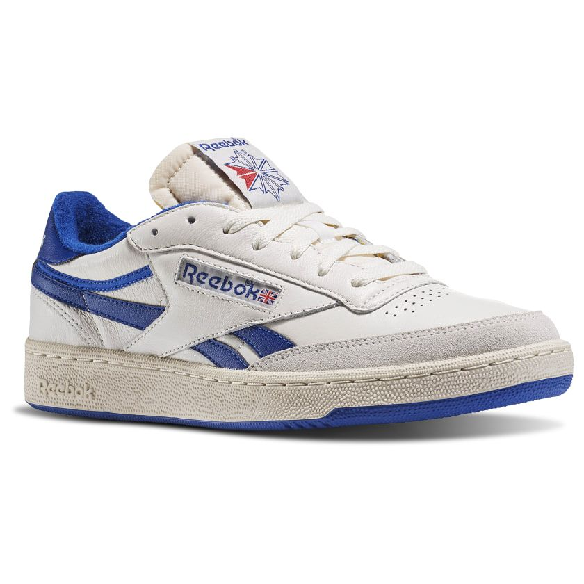 consonante Oclusión Oxidar  Revenge Plus Vintage Chalk / Paperwhite / Collegiate Royal / Exclnt Red  V67896 | Vintage sneakers, Snicker shoes, Reebok sneakers