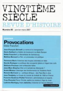 Vingtième Siècle. Revue d'histoire 2007/1