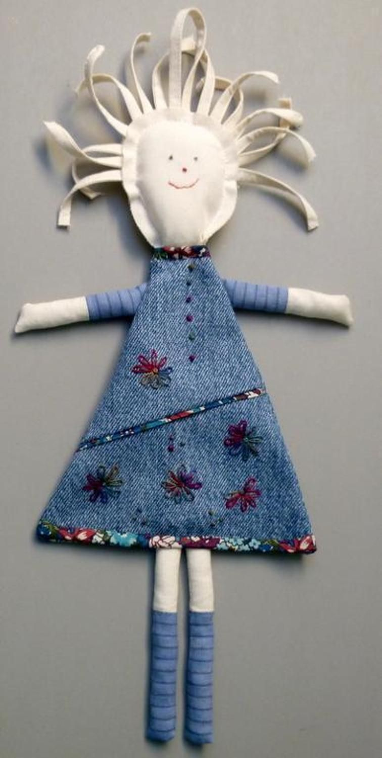 Miss Denim Dolly #dollies