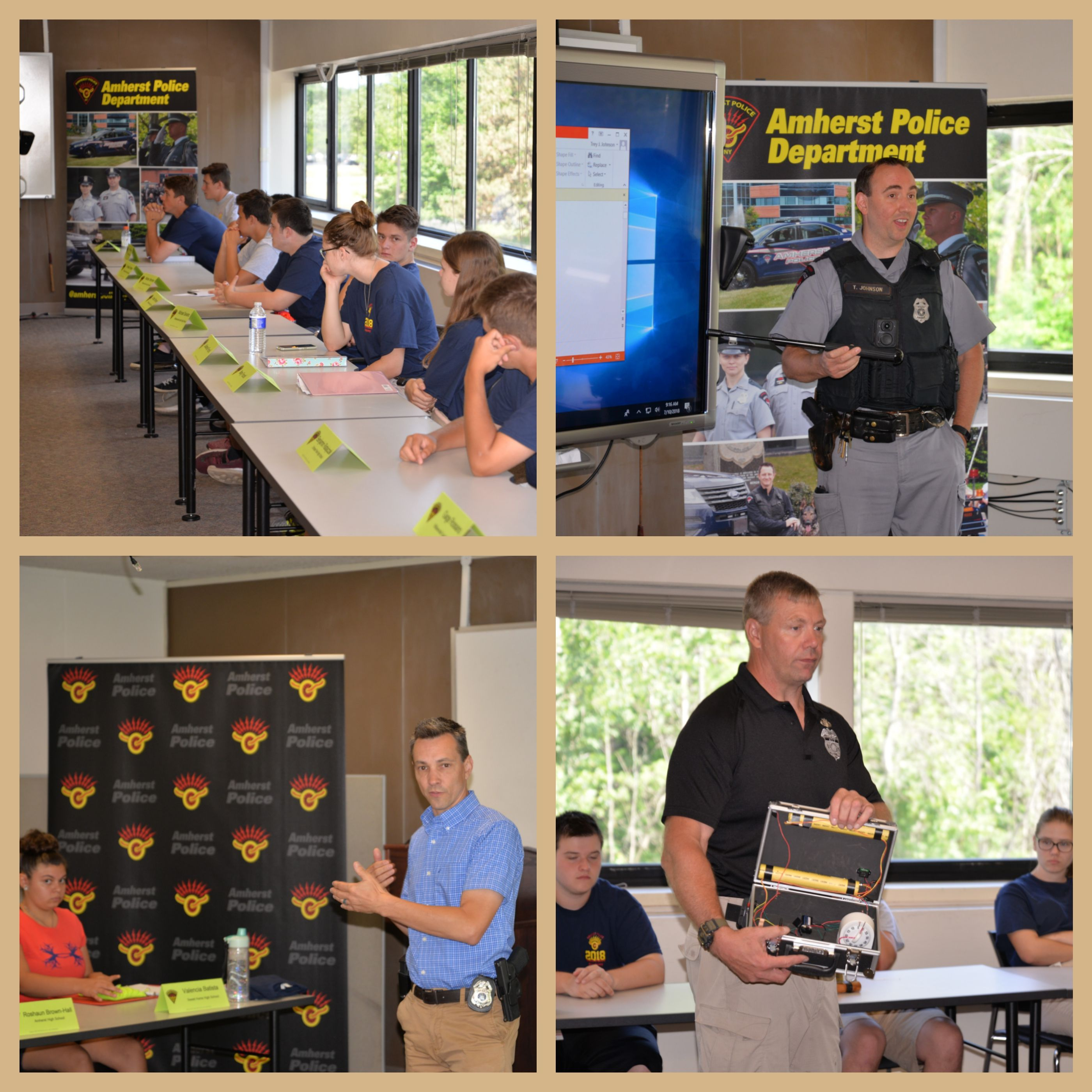 AMHERST, NY] -- WEEK 1 - Summer 2018 Amherst Police Department Youth