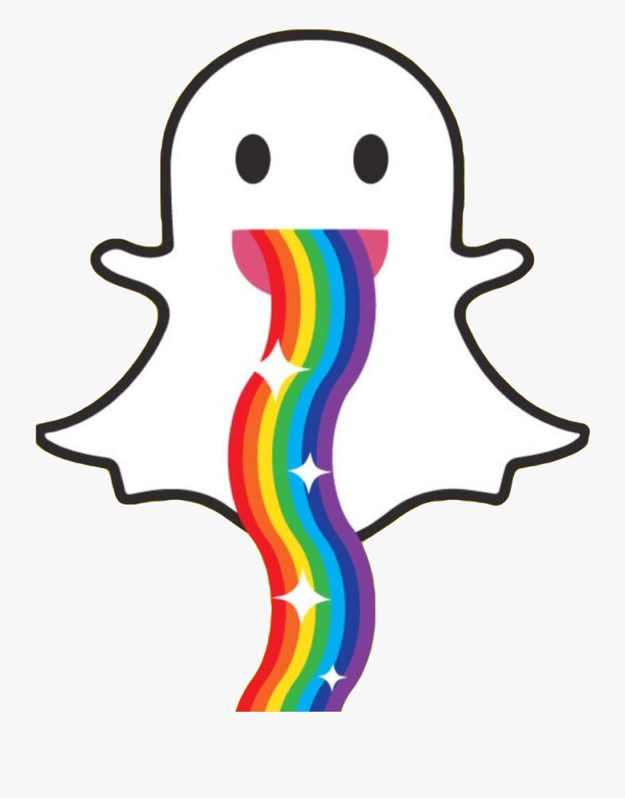 Ghost Rainbow Rainbowvomit Rainbowbarf Colors Rainbow Snapchat Ghost Logo Is A Free Transparent Background Clipart Image Ghost Logo Rainbow Art Clip Art