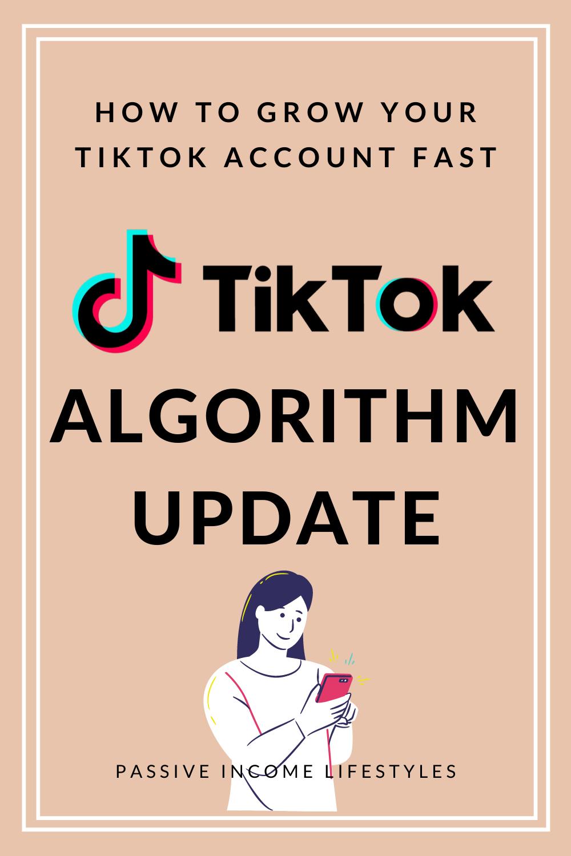 Tiktok Algorithm Update June July 2020 Update How To Grow Your Tiktok Account Fast Affiliate Marketing Course Facebook Strategy Algorithm