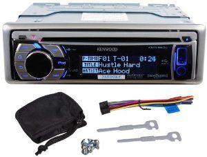 Kenwood KMR-550U Single Din Marine CD/MP3 Receiver With USB, Music