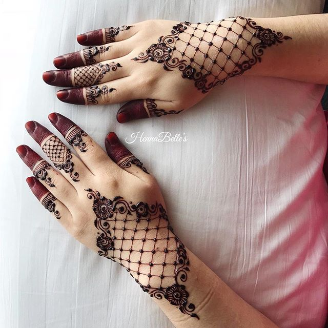 136 Best Images About Henna Inspiration Arms On Pinterest: Nice Red Henna (@hennabelle) • Instagram
