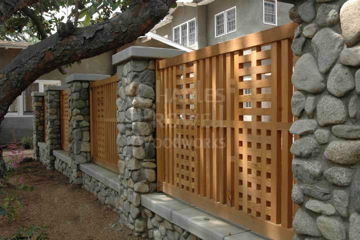 Craftsman Style Fence By Charles Prowell Woodworks