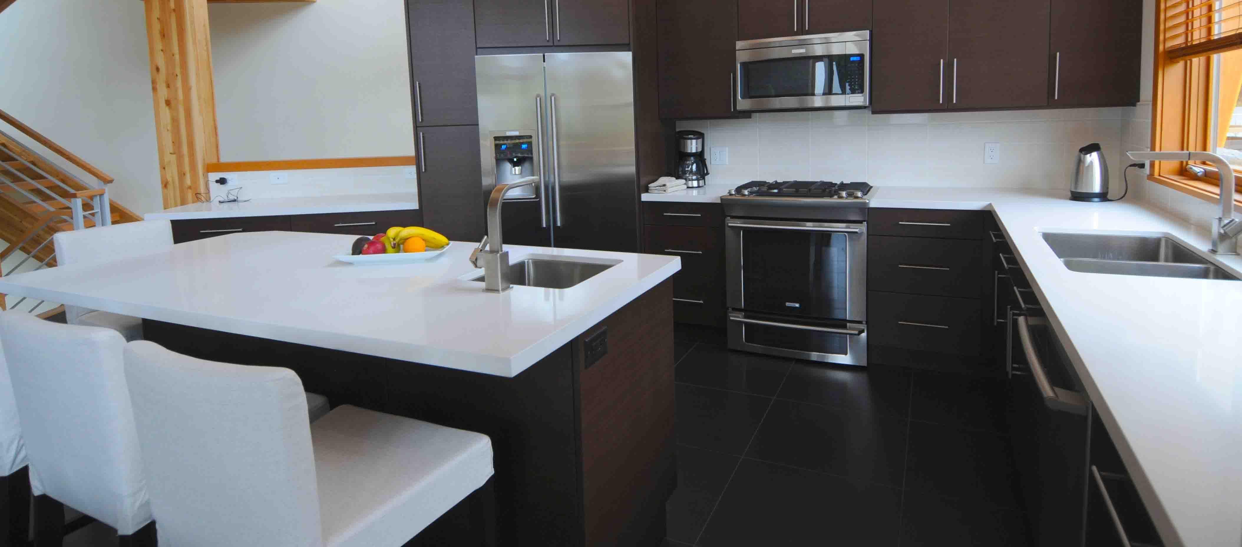 Quarz-küchendesign weiß quarz küchenarbeitsplatten  die anderen punkte zu