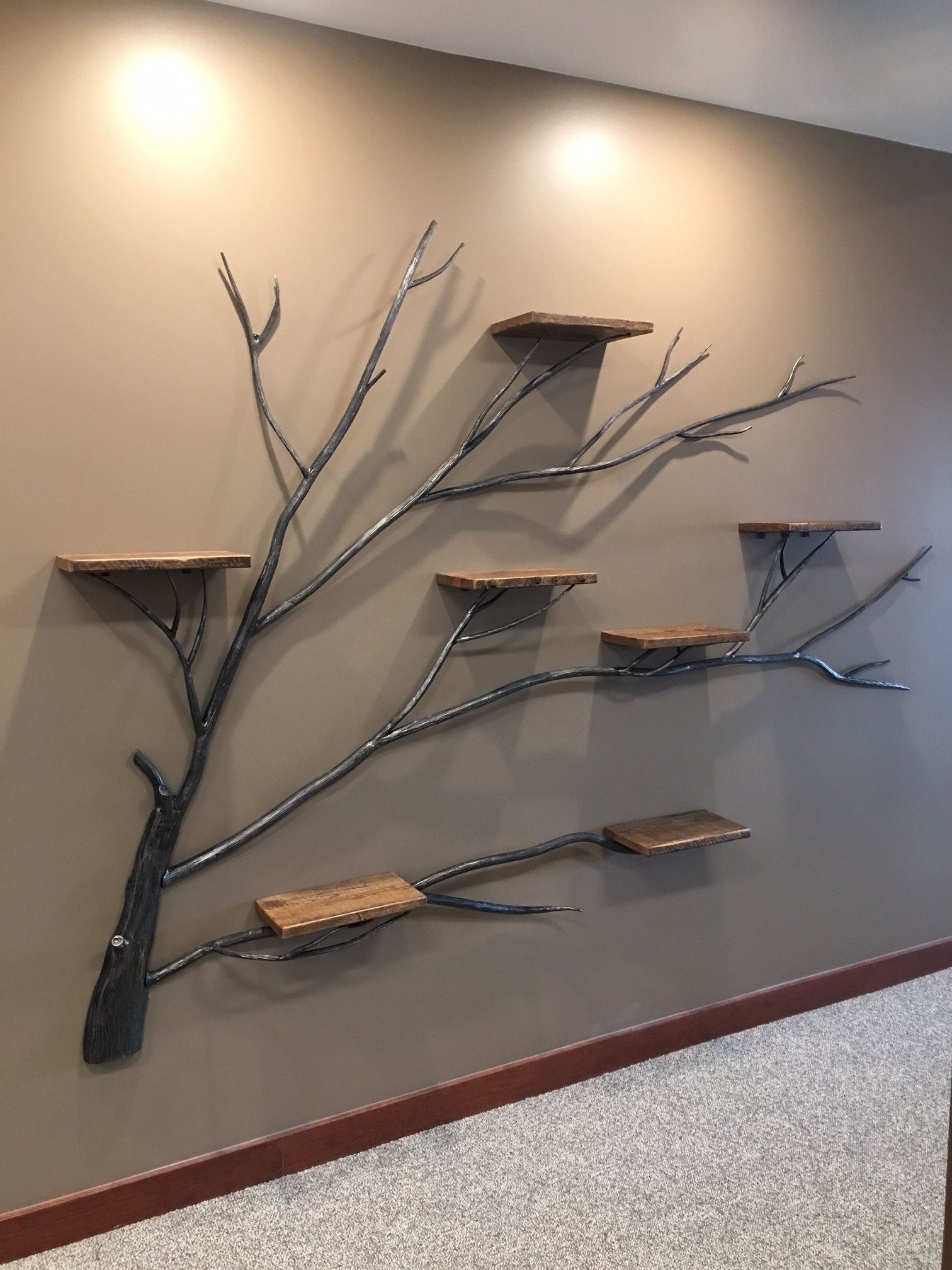 Photo of Tree of life wall shelf