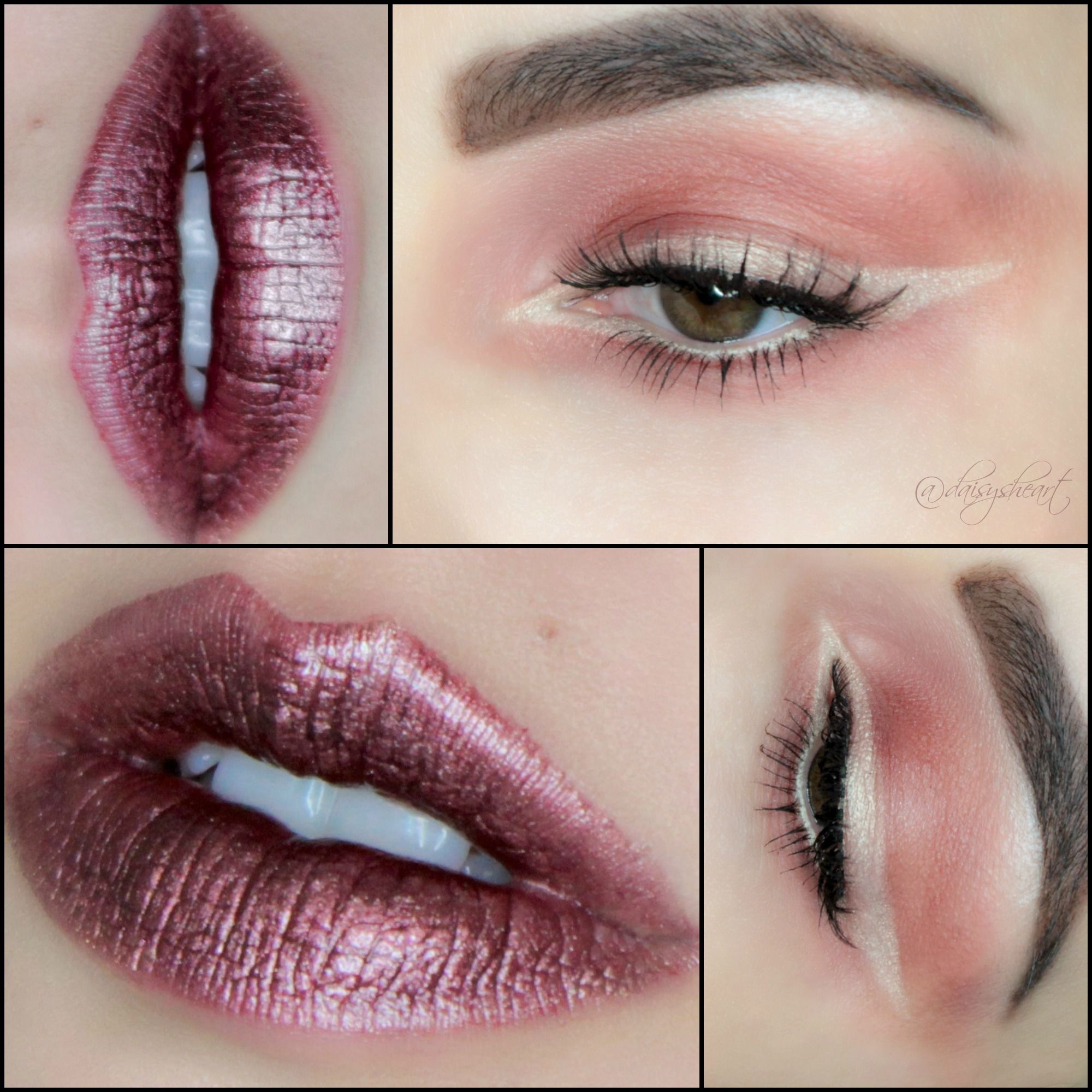 Estee Lauder Pearl Liner & House of Beauty lip hybrid in Iron Rose ...