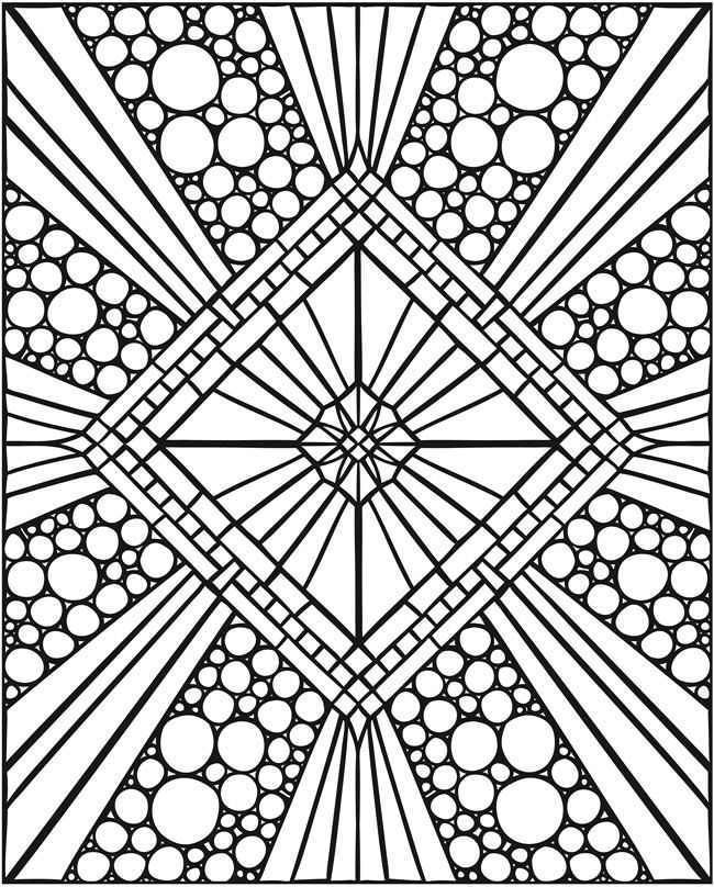 SPARK -- Mosaics Coloring Book Welcome to Dover Publications ...