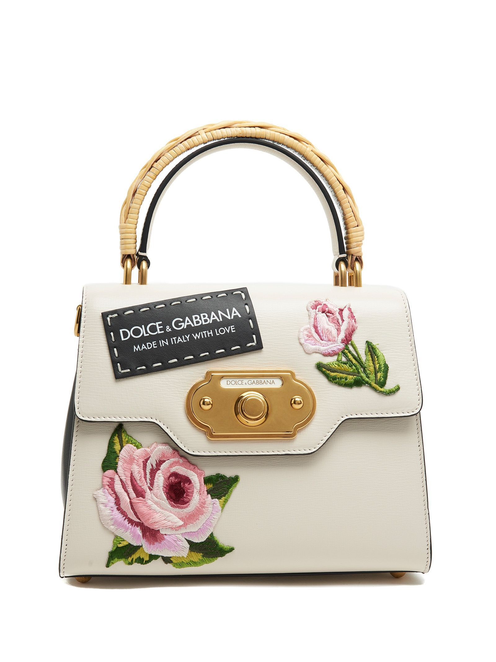 Dolce & Gabbana Small Leather Goods - NYLON PRINTED PURSE WITH EMBROIDERY Manchester Great Sale LrAQjn4xr