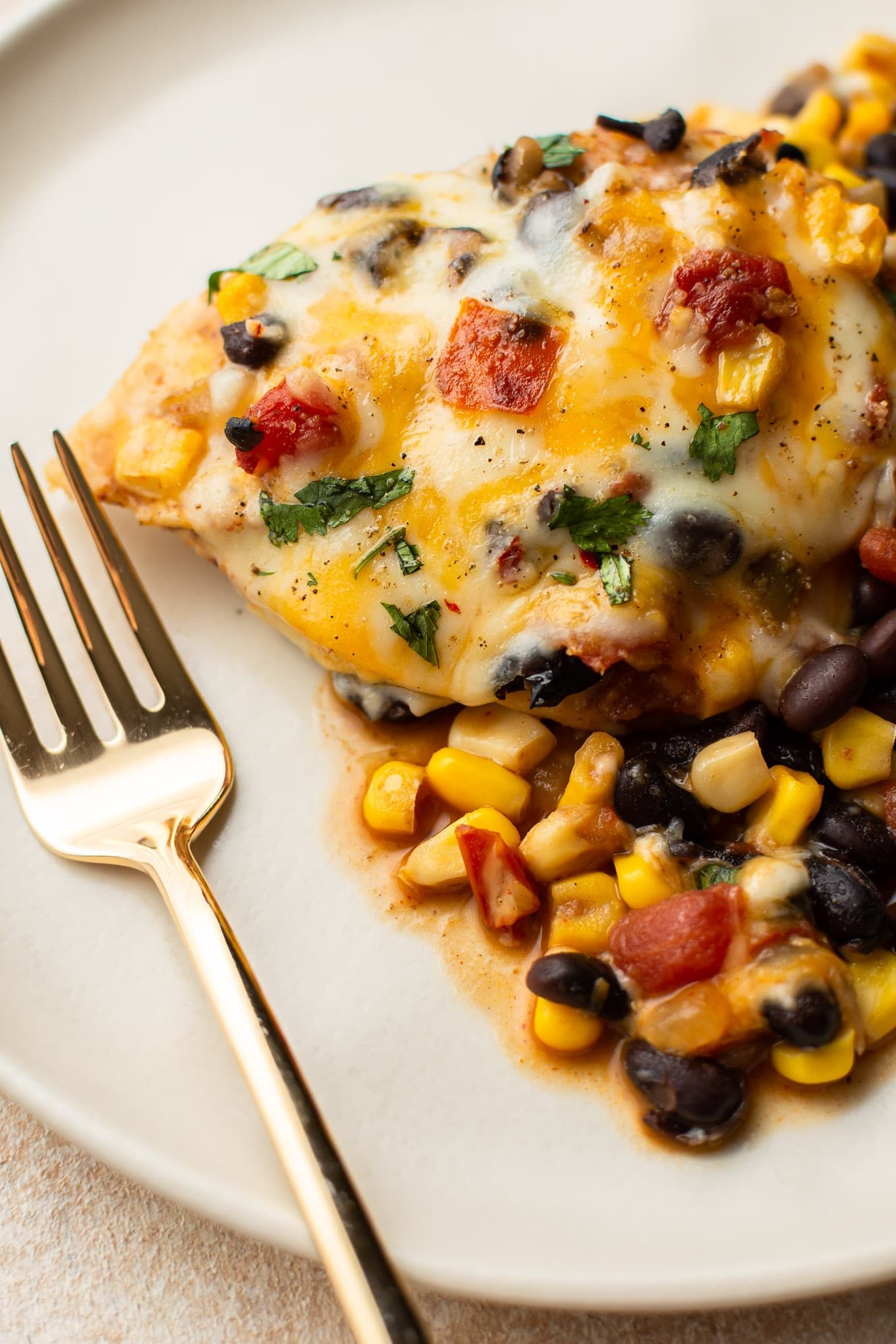 Santa Fe Chicken Is Simple And Incredibly Delicious For Busy Weeknight Dinners Black Beans Corn R Yummy Chicken Recipes Southwest Recipes Easy Skillet Meals
