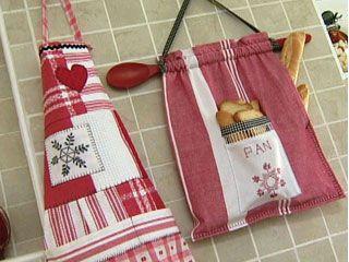 Delantal de cocina bolsas de tela for Utilisima cocina