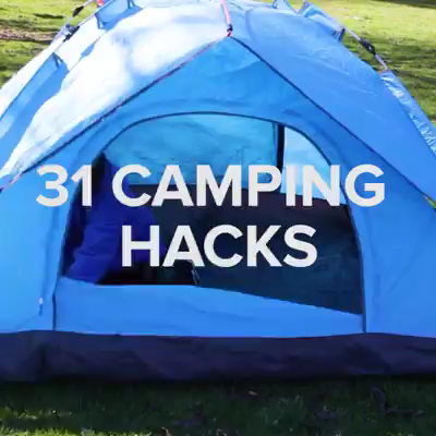 Photo of 31 Clever Camping Hacks