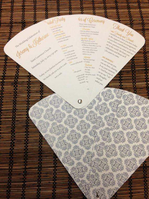 Make your own program fan step by step instructions and free petal fan wedding program fan program by designsbyalisamarie 5000 solutioingenieria Choice Image