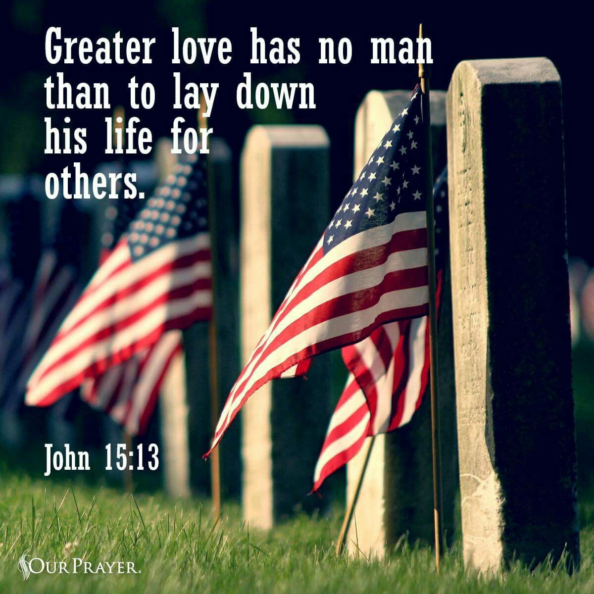 Memorial Day Bible Quotes: Patriotic Photos, Quotes And More