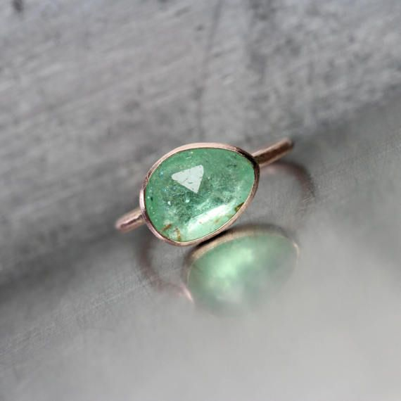 gemstone size ring brazilian pale emerald madringal grande green products spectacular
