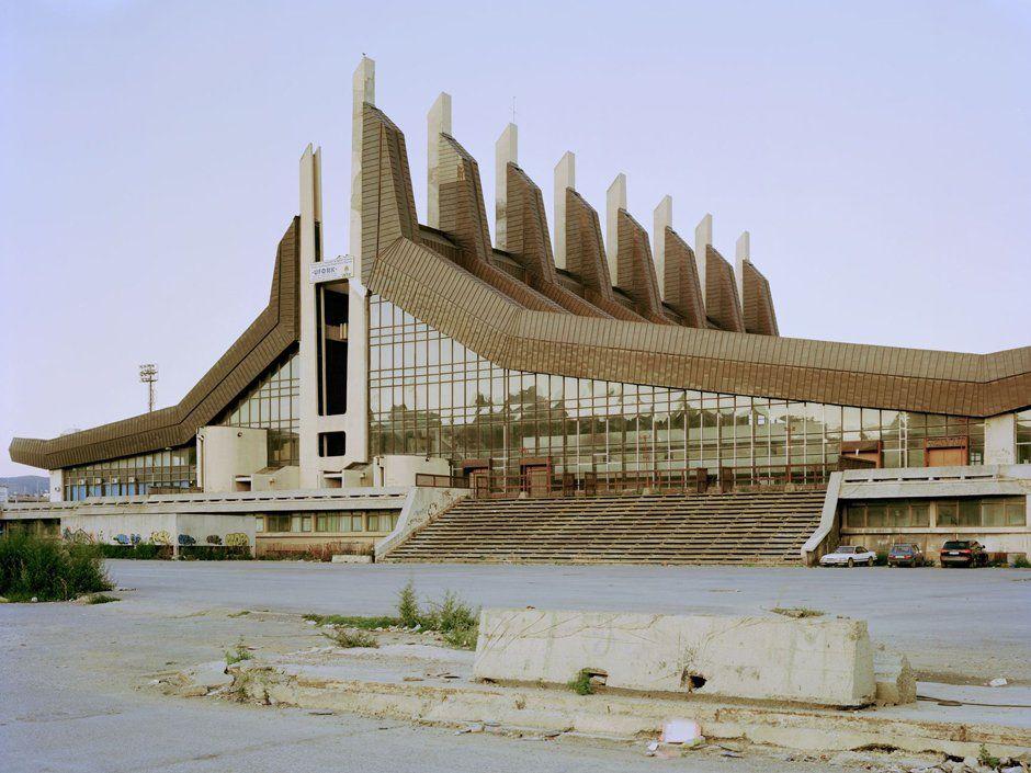 socialist architecture Pristina in Kosovo Архитектура