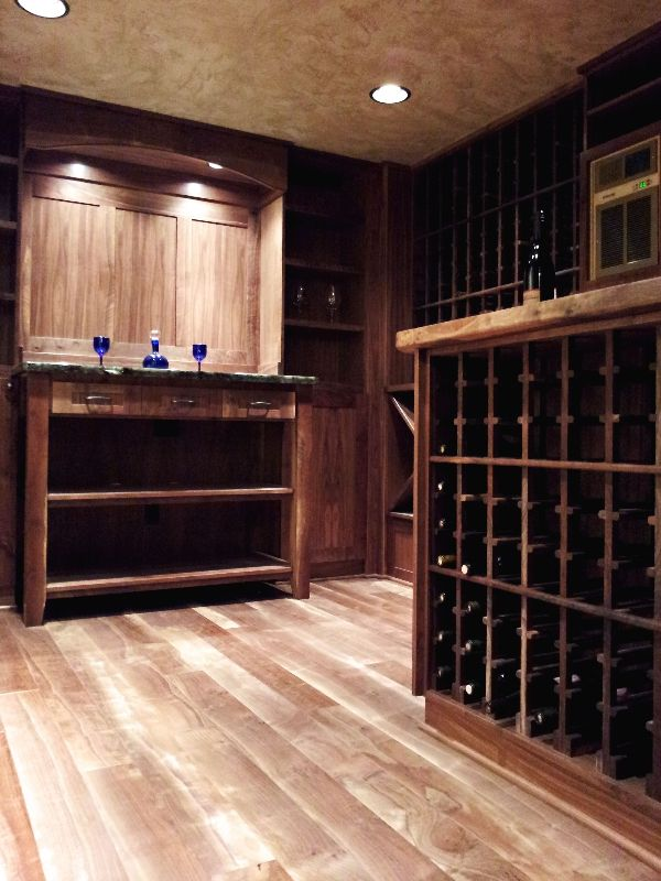 Converted Crawlspace To Wine Room And Storage Dream House Ideas