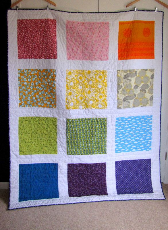 The Orange Room Blog Archive My Rainbow Quilt Has Been