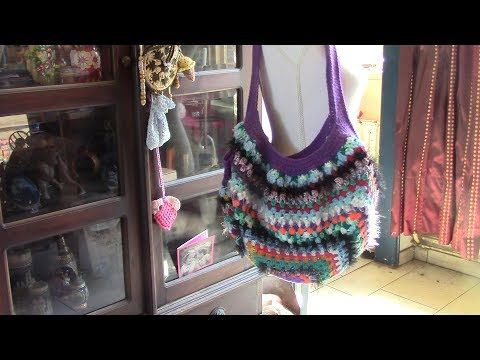Haken Tutorial Happy Scrappy Grannytas Youtube Crochet Items