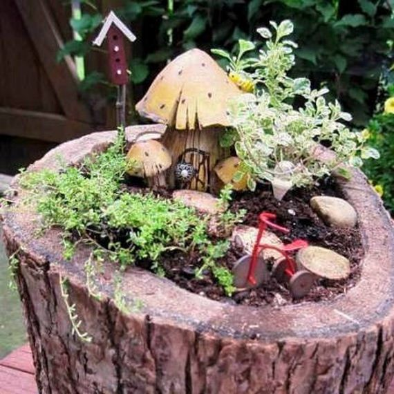Great How To Recycle Tree Stumps For Garden Art And Yard Decorations