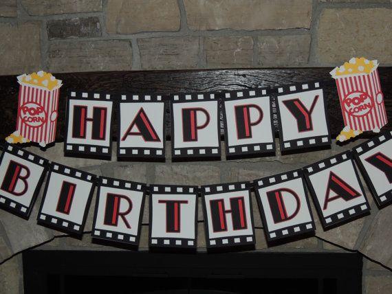 Resultado de imagen de feliz cumpleañosd e cine