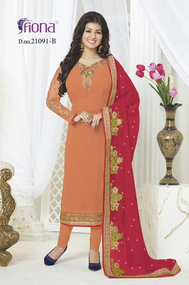 39f24ccf44 Fiona Ayesha Takia Vol-7 Designer Suits (4 pc catalog) | a | Desi ...