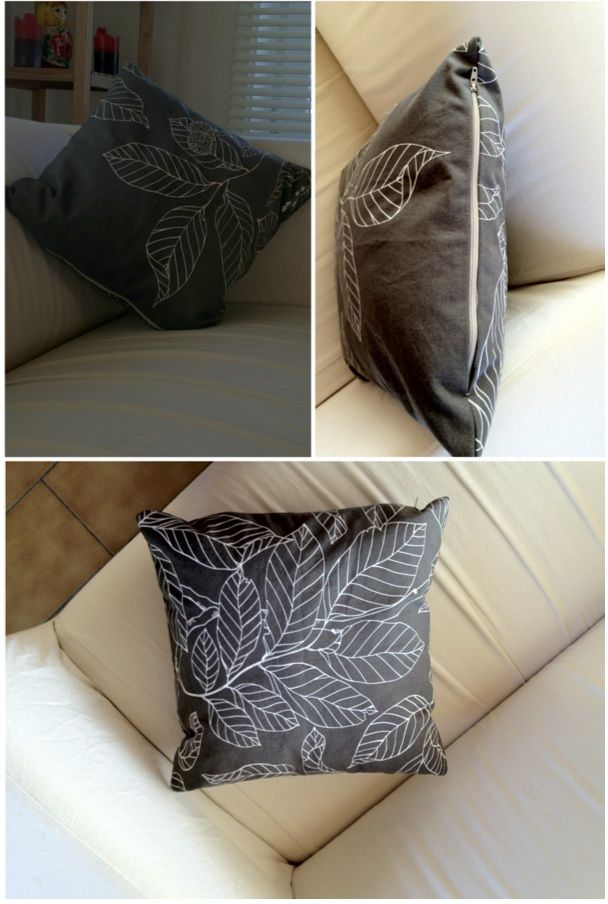 pillow case and recycle old