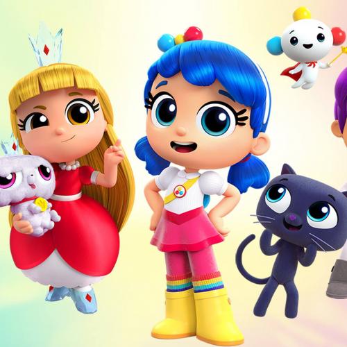 True and the rainbow kingdom costume Baby girl birthday
