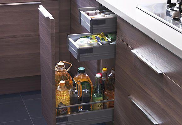 Armarios de esquina para cocina buscar con google huis huis pinterest armario de esquina - Cajoneras de cocina ...