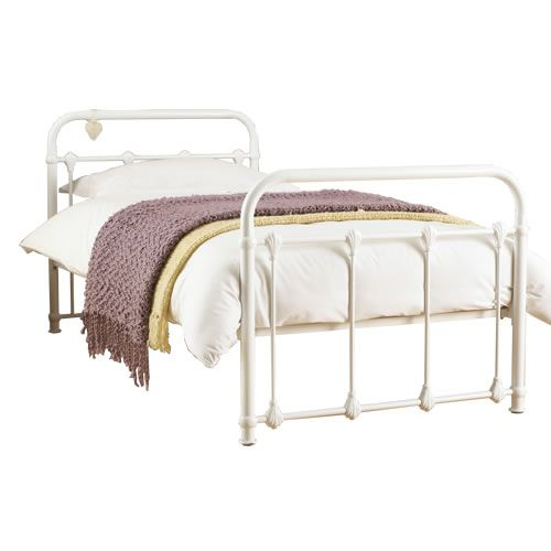 Purity White Metal Bed Frame A Nautical Themed Bedroom White