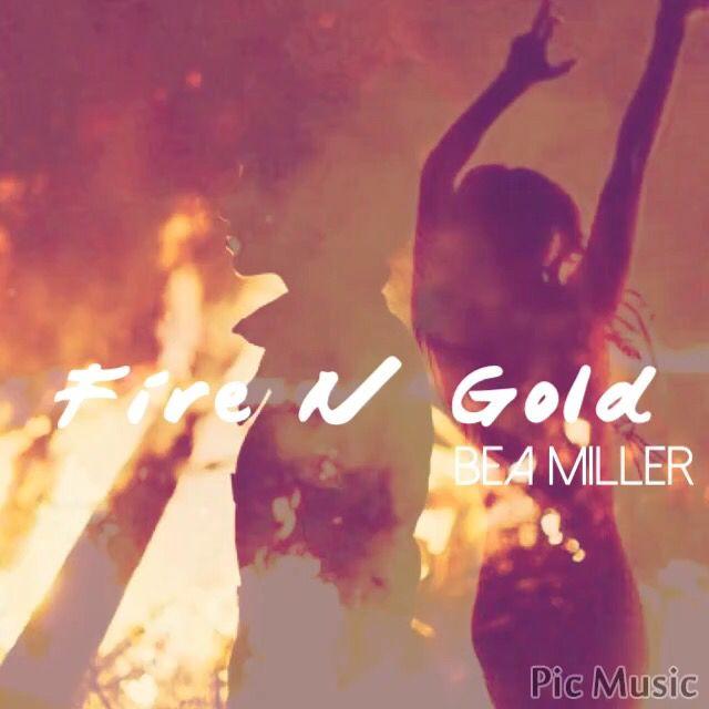 Bea Miller  Het onduidelijke beeld met vuur vind ik gaaf.