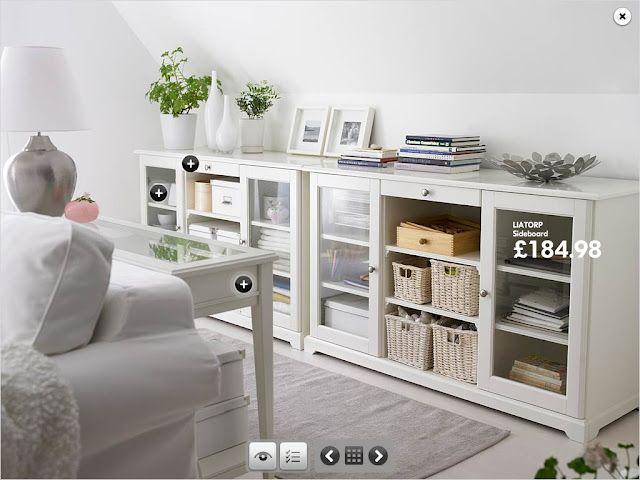 LIATORP Sideboard, white hmmm . . . Master Bedroom sitting ...