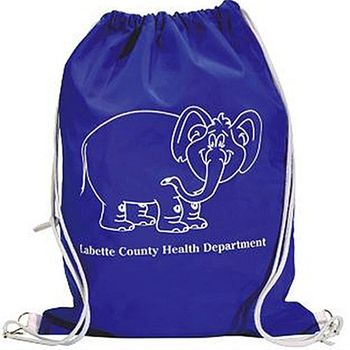 Superstrong Waterproof Drawstring Backpack - thinking about something like this for the MFL this year w/a pro-life design of course! any thoughts?