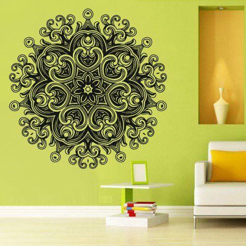 Best Wall Decal Vinyl Mural Sticker Art Decor Bedroom Yoga 400 x 300