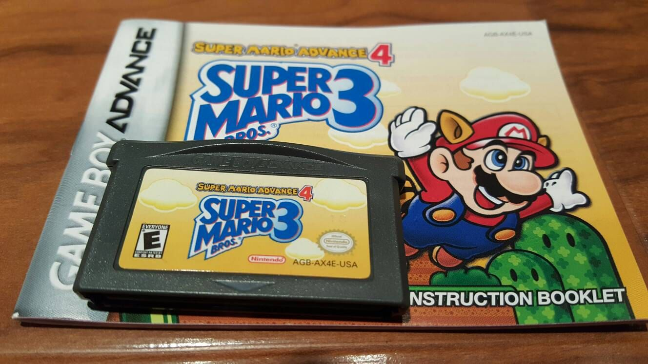 Super Mario Bros 3 Mario Advance 4 Nintendo Gameboy Advance Video