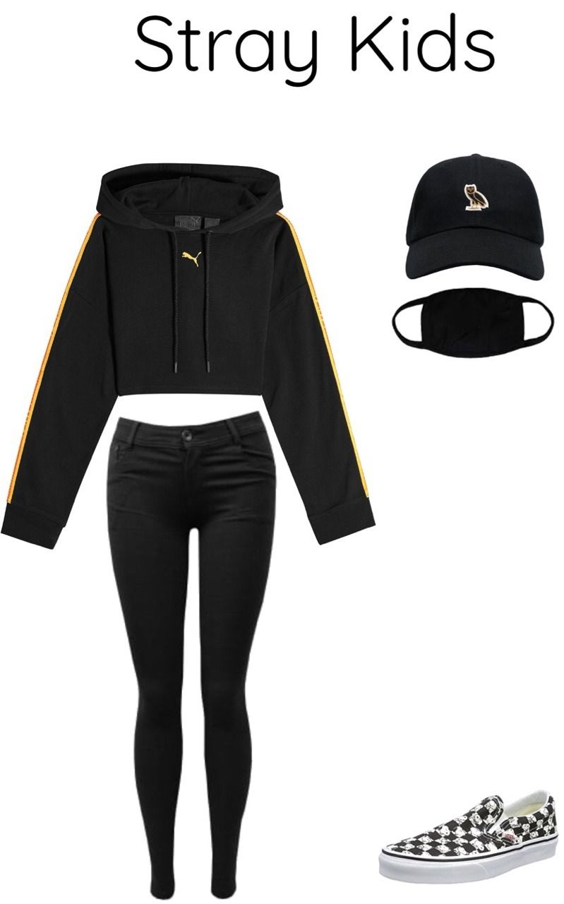 Stray Kids outfit (Credit to original: found on Tumblr) | My