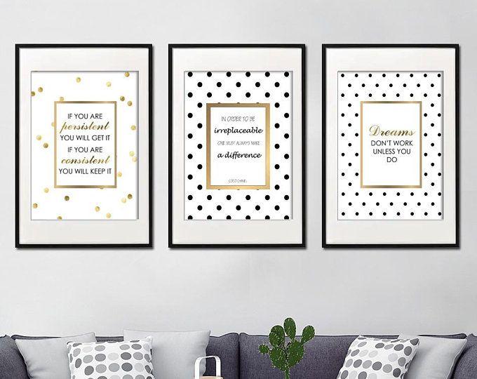 Kate Spade Inspired Artwork Quotes - Digital Print Download 10 Pcs #katespadewallpaper