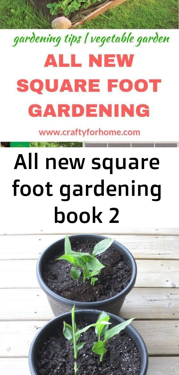 All New Square Foot Gardening Book It Is The Perfect Book For