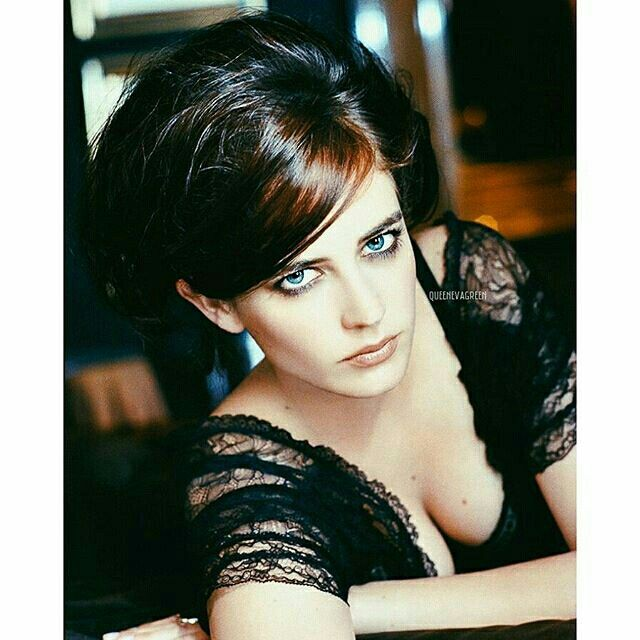 Eva Green stunning eyes !