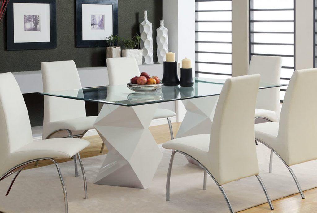 Risultati immagini per tavoli in cristallo per sala da ...