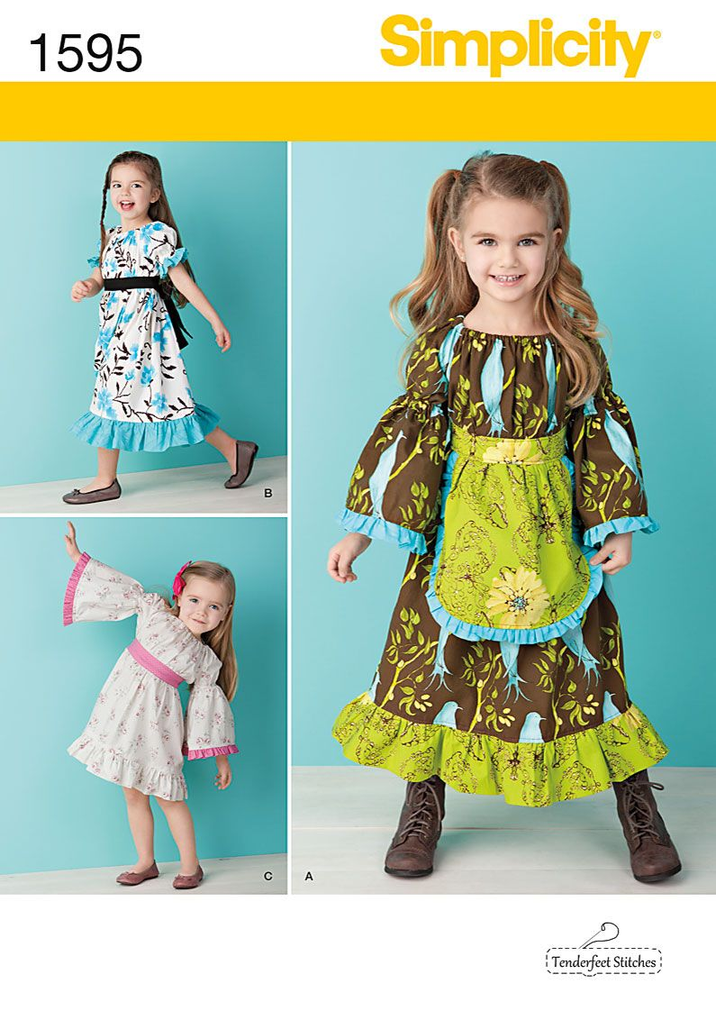 Simplicity creative group toddlersu and childus dress patterns i