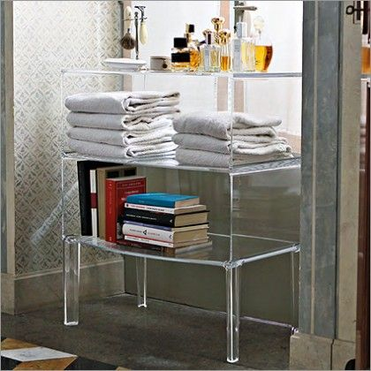 Kartell Ghost Buster Table By Philippe Starck | Transparent ...